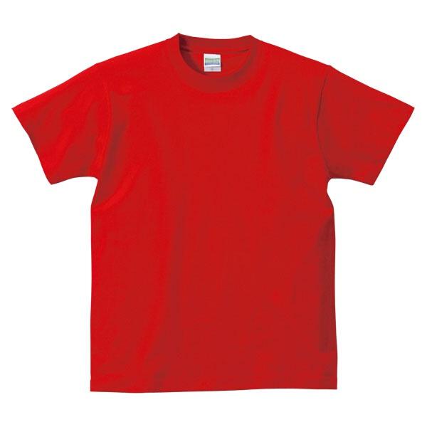 5.6オンス ハイクオリティーTシャツ(アダルト) カラー [カラー:レッド] [サイズ:S] #5001-01C-69