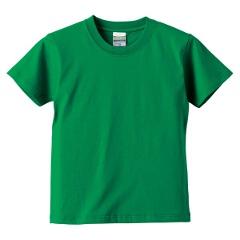5.6オンス ハイクオリティーTシャツ(キッズ) カラー [カラー:グリーン] [サイズ:140] #5001-02C-29
