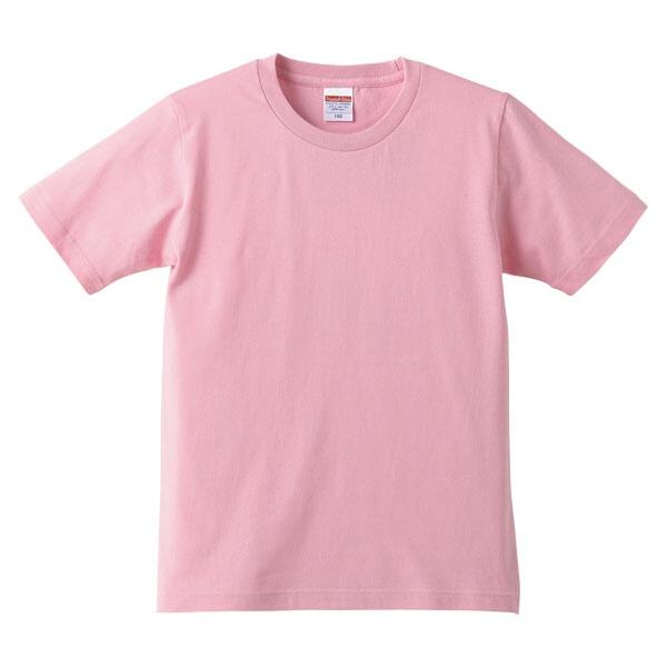 5.0オンス レギュラーフィットTシャツ(キッズ) カラー [カラー:ピンク] [サイズ:150] #5401-02C-66