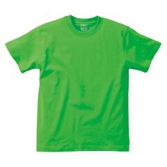 5.6オンス ハイクオリティーTシャツ(キッズ) カラー [カラー:ブライトグリーン] [サイズ:150] #5001-02C-25