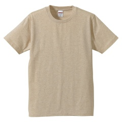 5.0オンス レギュラーフィットTシャツ(キッズ) カラー [カラー:ヘザーベージュ] [サイズ:160] #5401-02C-723