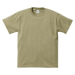 5.6オンス ハイクオリティーTシャツ(アダルト) カラー [カラー:サンドカーキ] [サイズ:XXXL] #5001-01CXX-537