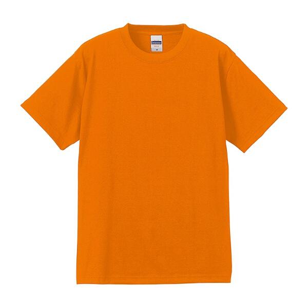 6.2オンス Tシャツ(アダルト) カラー [カラー:オレンジ] [サイズ:L] #5555-01C-64