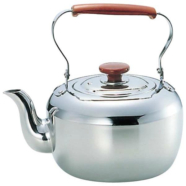 【玉虎堂製作所】 MA 18-8 ケットル 10.0L 【キッチン用品:調理用具・器具:やかん(ケトル)】【MA 18-8 ケットル】