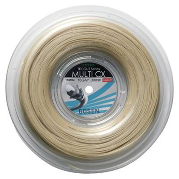 【ゴーセン】 TECGUT(テックガット) マルチCX16 [カラー:ナチュラル] [長さ:240m] #TS6602NA 【スポーツ・アウトドア:スポーツ・アウトドア雑貨】