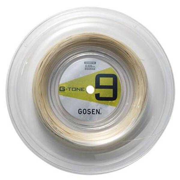 G-TONE 9 ロール バドミントンガット [カラー:ナチュラル] [長さ:200m] #BS0692-NA