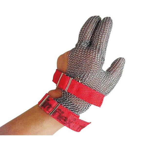 【江部松商事】 ニロフレックス メッシュ手袋 3本指(1枚) S 【キッチン用品:雑貨:キッチン用手袋】【ニロフレックス メッシュ手袋 3本指(1枚)】