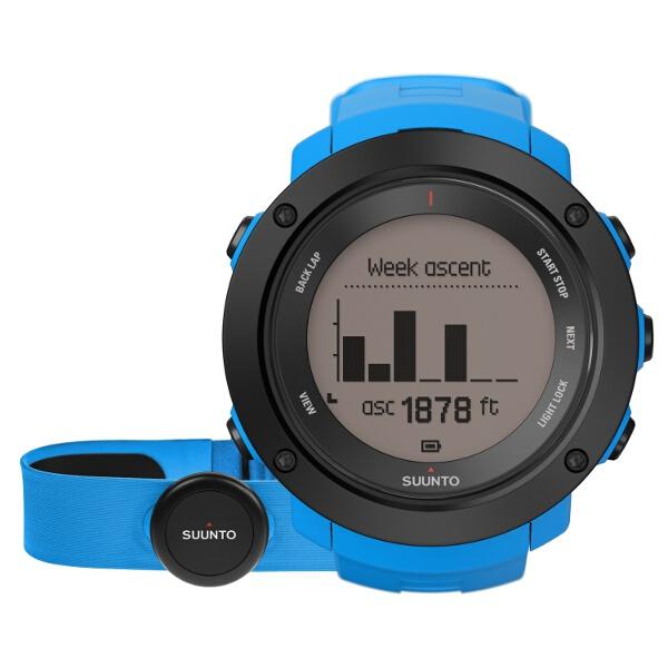 【スント】 AMBIT3 VERTICAL HR BLUE(アンビット3バーティカル) 日本正規品 GPSスポーツウォッチ #SS021968000 【スポーツ・アウトドア:アウトドア:精密機器類:ウォッチ】