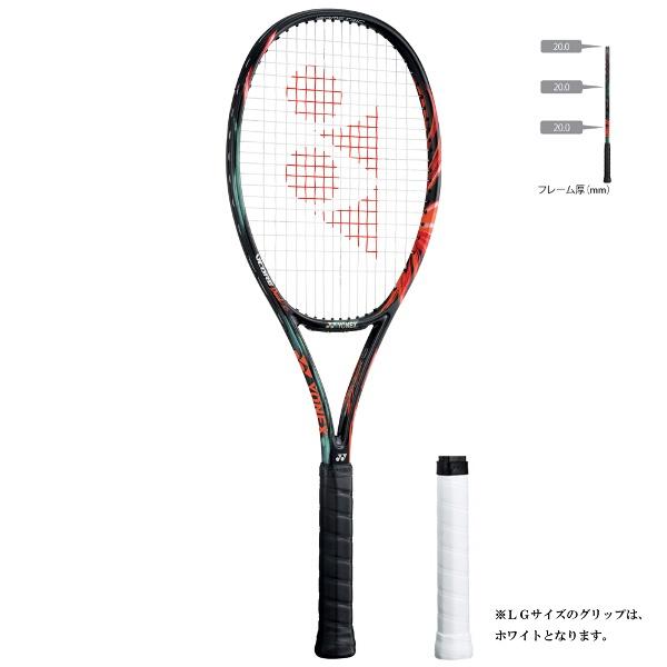 【1500円以上購入で200円クーポン(要獲得) 11/22 9:59まで】 【送料無料】 テニスラケット(硬式用) Vコア デュエル ジー 97 [カラー:ブラック×オレンジ] [サイズ:LG2] #VCDG97-401 【ヨネックス: スポーツ・アウトドア テニス ラケット】【YONEX】