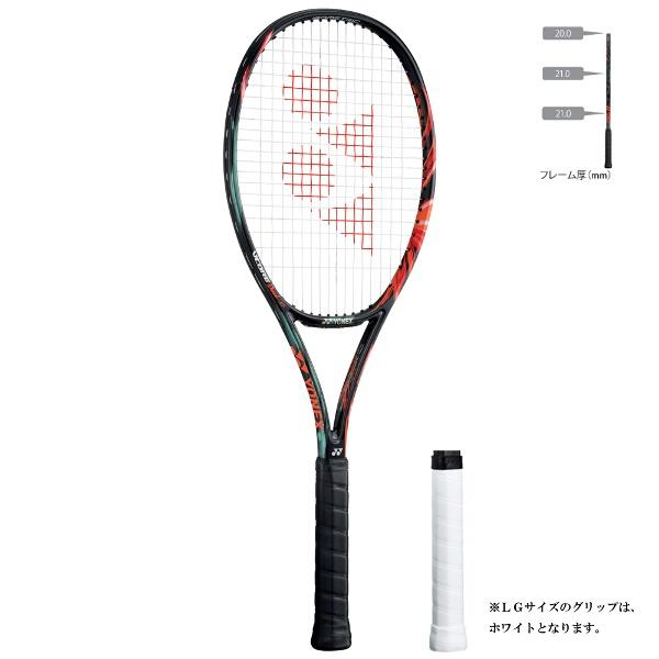 【1500円以上購入で200円クーポン(要獲得) 11/22 9:59まで】 【送料無料】 テニスラケット(硬式用) Vコア デュエル ジー 100 [カラー:ブラック×オレンジ] [サイズ:G2] #VCDG100-401 【ヨネックス: スポーツ・アウトドア テニス ラケット】【YONEX】