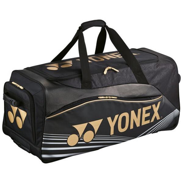 【ヨネックス】 キャスターバッグ テニスラケット3本用 [カラー:ブラック] #BAG1600C-007 【スポーツ・アウトドア:その他雑貨】