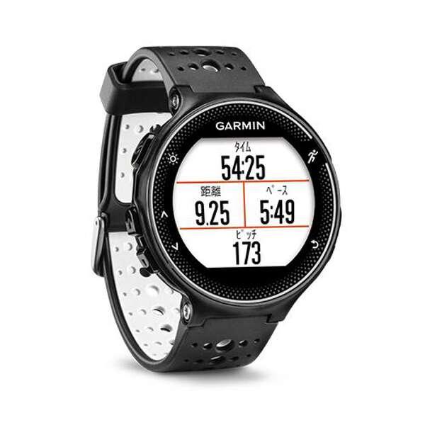 【ガーミン】 フォアアスリート230J 日本語正規版 GPSマルチスポーツウォッチ [カラー:ブラックホワイト] #371787 【スポーツ・アウトドア:ジョギング・マラソン:ギア】