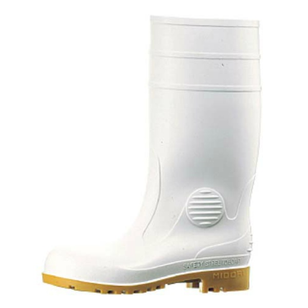 【ミドリ安全】 ミドリ安全長靴 ワークエース W1000 白 26cm 【キッチン用品:業務用器具:長靴・白衣】【ミドリ安全長靴 ワークエース W1000 白】