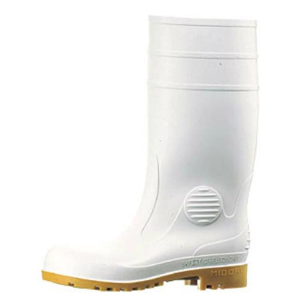 【ミドリ安全】 ミドリ安全長靴 ワークエース W1000 白 26.5cm 【キッチン用品:業務用器具:長靴・白衣】【ミドリ安全長靴 ワークエース W1000 白】