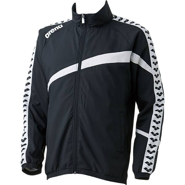 【アリーナ】 ウィンドジャケット [サイズ:O] [カラー:ブラック] #ARN-6300-BLK 【スポーツ・アウトドア:その他雑貨】