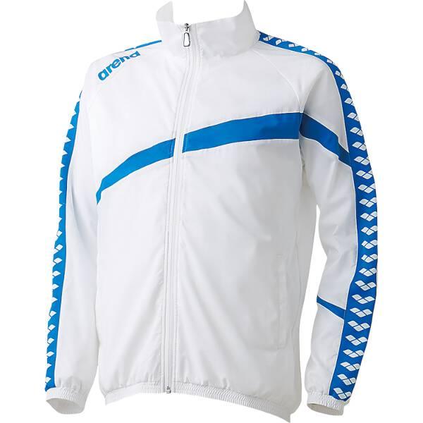 【アリーナ】 ウィンドジャケット [サイズ:O] [カラー:ホワイト] #ARN-6300-WHT 【スポーツ・アウトドア:その他雑貨】