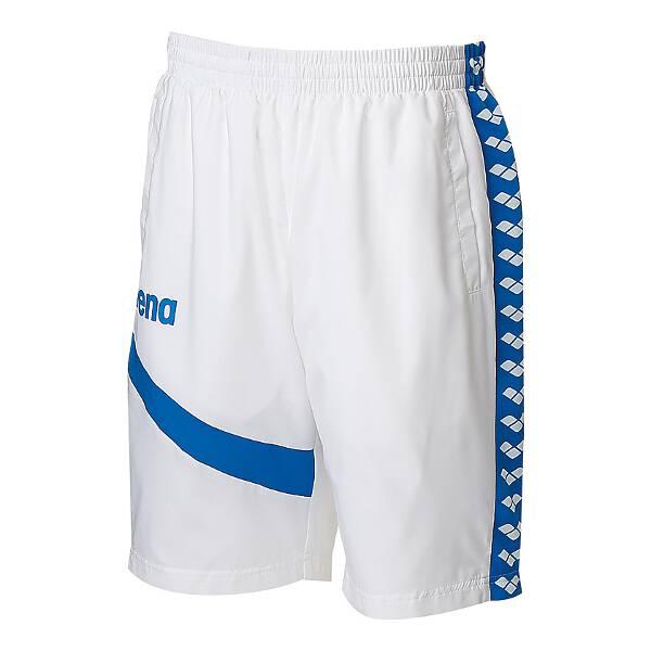 【アリーナ】 ウィンドハーフパンツ [サイズ:XO] [カラー:ホワイト] #ARN-6302P-WHT 【スポーツ・アウトドア:その他雑貨】