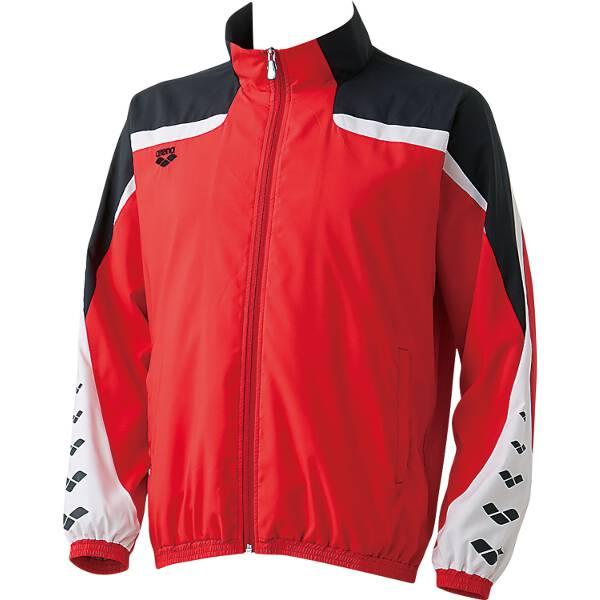 【アリーナ】 ウィンドジャケット [サイズ:SS] [カラー:レッド] #ARN-6310-RED 【スポーツ・アウトドア:スポーツ・アウトドア雑貨】