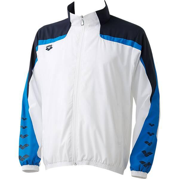 【アリーナ】 ウィンドジャケット [サイズ:L] [カラー:ホワイト] #ARN-6310-WHT 【スポーツ・アウトドア:その他雑貨】