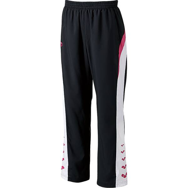 【アリーナ】 ウィンドロングパンツ [サイズ:S] [カラー:ブラック×ピンク] #ARN-6311P-BKPK 【スポーツ・アウトドア:その他雑貨】