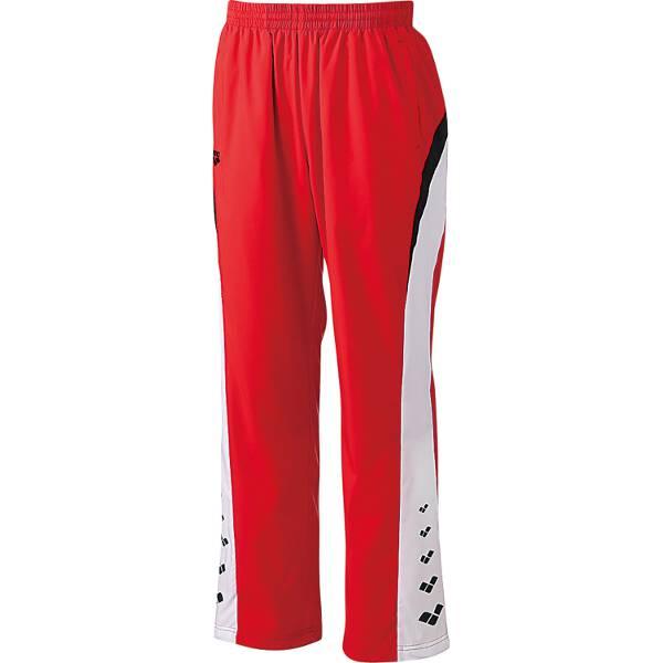 【アリーナ】 ウィンドロングパンツ [サイズ:SS] [カラー:レッド] #ARN-6311P-RED 【スポーツ・アウトドア:その他雑貨】