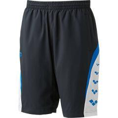 【アリーナ】 ウィンドハーフパンツ [サイズ:S] [カラー:ブラック×ブルー] #ARN-6312P-BKBU 【スポーツ・アウトドア:その他雑貨】