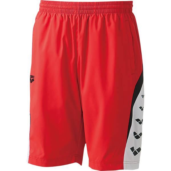 【アリーナ】 ウィンドハーフパンツ [サイズ:S] [カラー:レッド] #ARN-6312P-RED 【スポーツ・アウトドア:その他雑貨】