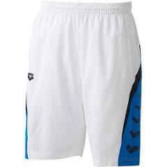 【アリーナ】 ウィンドハーフパンツ [サイズ:L] [カラー:ホワイト] #ARN-6312P-WHT 【スポーツ・アウトドア:その他雑貨】