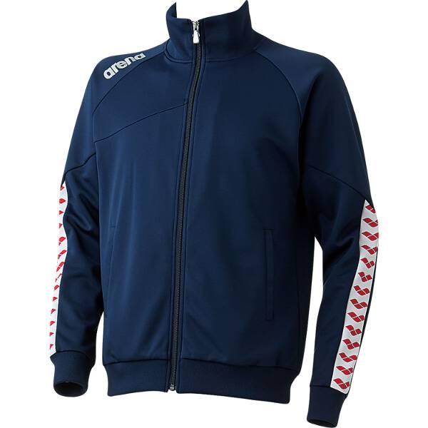 【アリーナ】 ジャージジャケット [サイズ:O] [カラー:ダークネイビー] #ARN-6320-DNY 【スポーツ・アウトドア:その他雑貨】