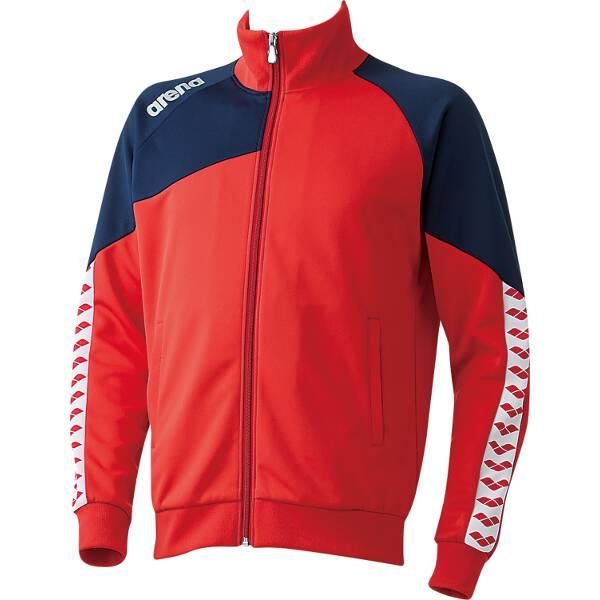 【アリーナ】 ジャージジャケット [サイズ:SS] [カラー:レッド] #ARN-6320-RED 【スポーツ・アウトドア:その他雑貨】