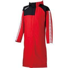 【アリーナ】 ロングコート [サイズ:M] [カラー:レッド] #ARN-6330-RED 【スポーツ・アウトドア:その他雑貨】