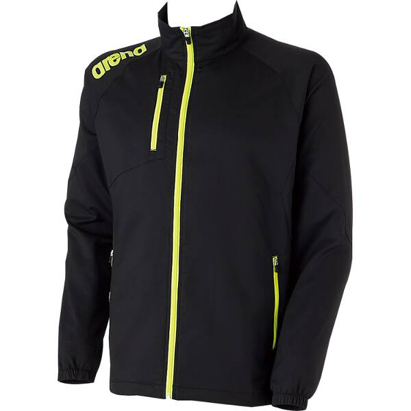 【アリーナ】 クロスジャケット [サイズ:XO] [カラー:ブラック] #ARN-4300-BLK 【スポーツ・アウトドア:スポーツ・アウトドア雑貨】