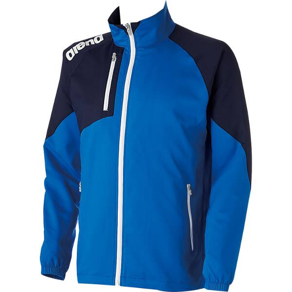 【アリーナ】 クロスジャケット [サイズ:M] [カラー:ブルー×ダークネイビー] #ARN-4300-BUDN 【スポーツ・アウトドア:その他雑貨】