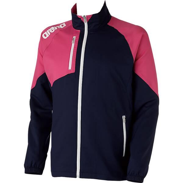 【アリーナ】 クロスジャケット [サイズ:SS] [カラー:ダークネイビー×マゼンタ] #ARN-4300-DNMG 【スポーツ・アウトドア:スポーツ・アウトドア雑貨】