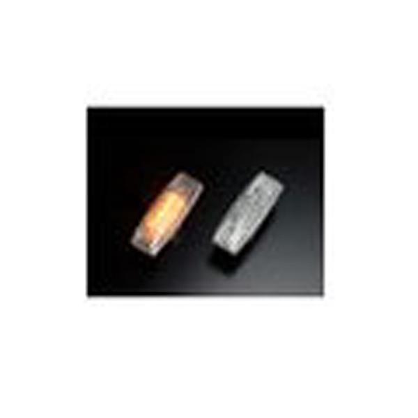 【クリアワールド】 LEDクリスタルサイドマーカ― ニッサン用 #SMN‐08L 【カー用品:ライトランプ:サイドマーカー】