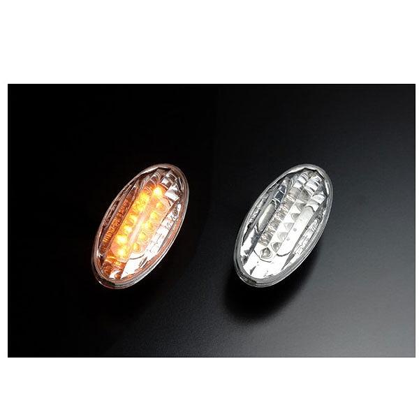【クリアワールド】 LEDクリスタルサイドマーカ― スズキ用 #SMS‐03L 【カー用品:ライトランプ:サイドマーカー】