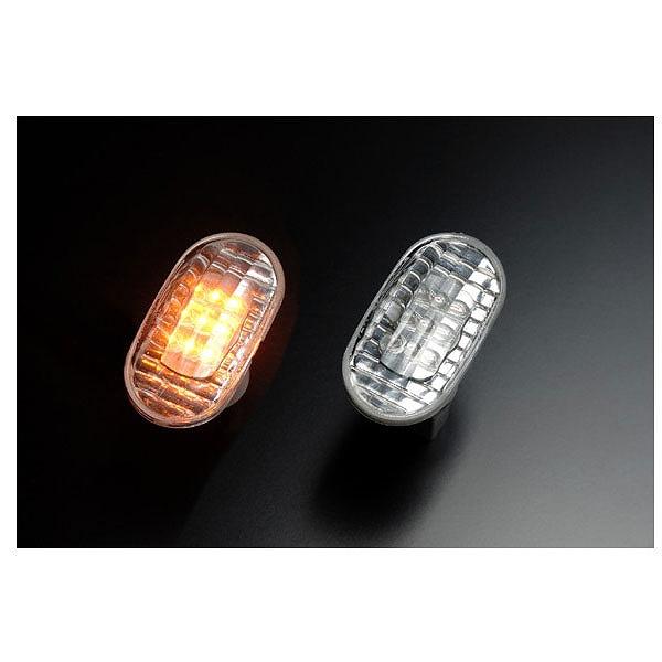 【クリアワールド】 LEDクリスタルサイドマーカ― スズキ用 #SMS‐04L 【カー用品:ライトランプ:サイドマーカー】