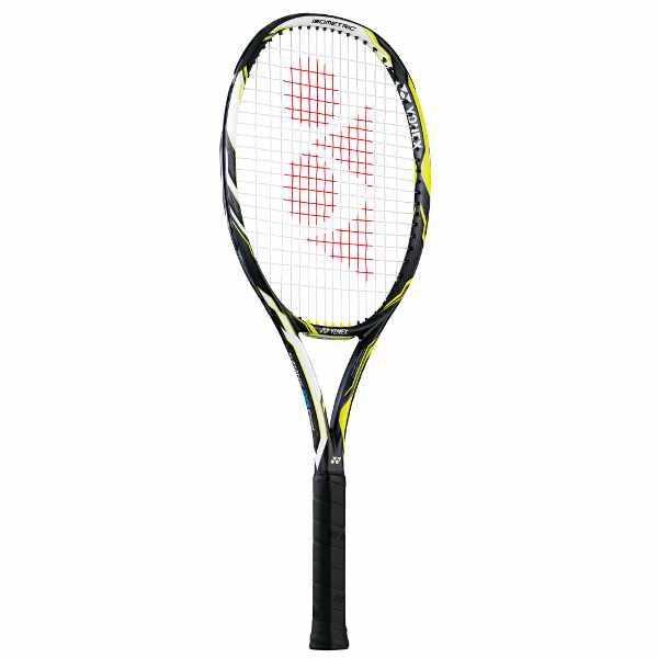 【ヨネックス】 硬式テニスラケット Eゾーン DRフィール(ガットなし) [サイズ:G2] [カラー:ダークガン×ライム] #EZDF-286 【スポーツ・アウトドア:テニス:ラケット】