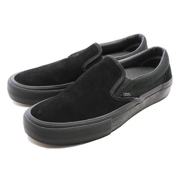 【バンズ】 バンズ スリッポン プロ [サイズ:28cm(US10)] [カラー:ブラックアウト] #VN00097M1OJ 【靴:メンズ靴:スニーカー】【VN00097M1OJ】