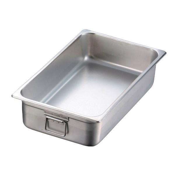 【江部松商事】 EBM 18-8 二重断熱ホテルパン 1/1 H100mm 【キッチン用品:食器・食卓用品:食器】