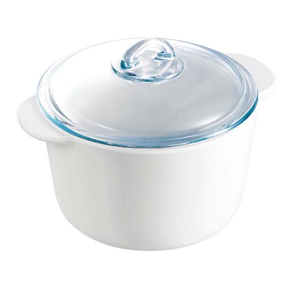 【アルク インターナショナル】 パイロフラム ココット・ロンド 2L P25A000/5043 【キッチン用品:食器・食卓用品:食器:洋食器】