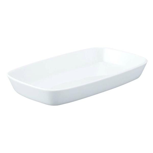 【シェーンバルド】 シェーンバルド 角型 グラタン皿 9148439(1011-39)白 【キッチン用品:食器・食卓用品:食器:洋食器:皿・プレート:グラタン皿】
