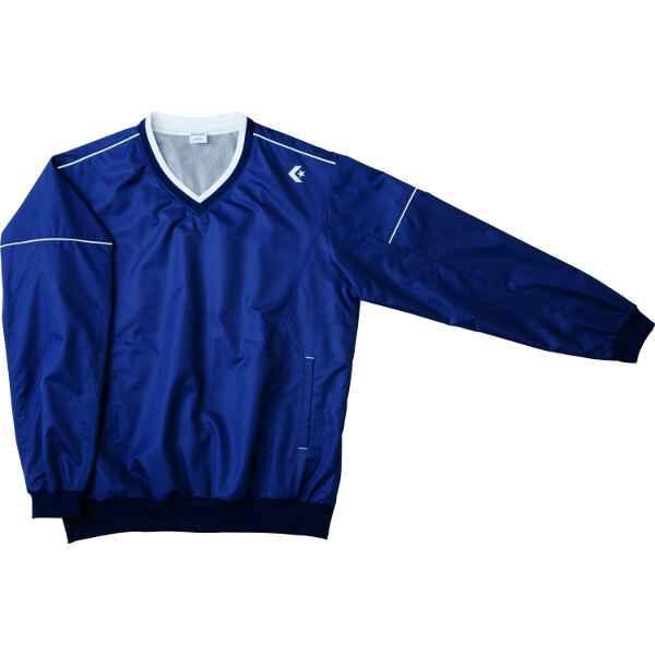 【コンバース】 ウォームアップジャケット(裾ボックス仕様) CB162501S [カラー:ネイビー×ホワイト] [サイズ:L] #CB162501S-2911 【スポーツ・アウトドア:その他雑貨】