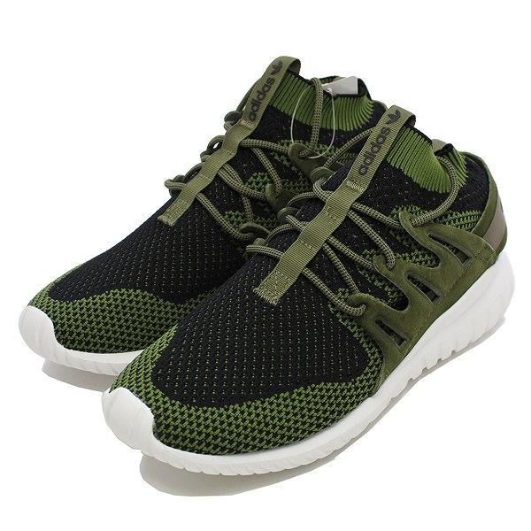 【アディダス】 アディダス チュブラ― ノバ プライムニット [サイズ:26.5cm(US8.5)] [カラー:オリーブカーゴ/コアブラック/ビンテージホワイト] #S80111 【靴:メンズ靴:スニーカー】【S80111】