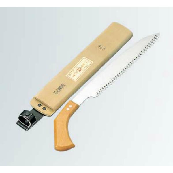 【青木刃物製作所】 ピストル型 氷ノコギリ(サヤ付) 27cm 21121 【キッチン用品:調理用具・器具】