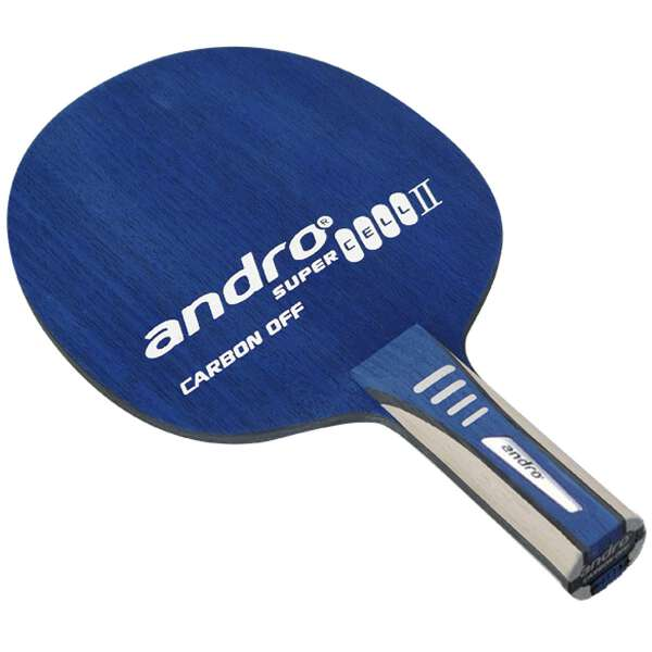 【アンドロ】 スーパーセルカーボン2 オフ ST(ストレート) 卓球ラケット #10235101 【スポーツ・アウトドア:その他雑貨】