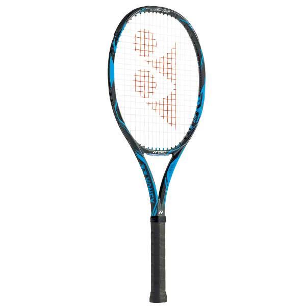 【1500円以上購入で200円クーポン(要獲得) 11/22 9:59まで】 【送料無料】 テニスラケット(硬式用) Eゾーン ディーアール 100 [カラー:ブラック×ブルー] [サイズ:G2] #EZD100-188 【ヨネックス: スポーツ・アウトドア テニス ラケット】【YONEX】