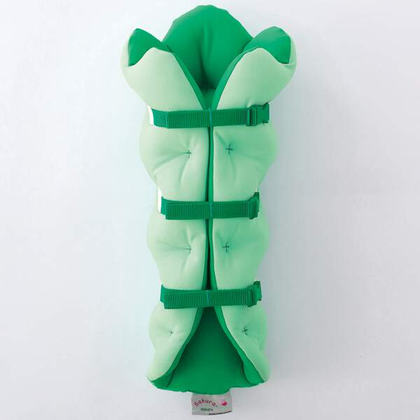 足枕 サクラ咲くまくら(両足用) [カラー:ライム] [サイズ:フリー] #SS90020-LM
