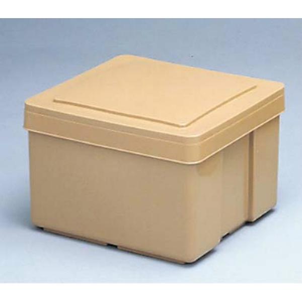 【関東プラスチック工業】 保温保冷食缶 小 KC-200 薄茶 415×335 【キッチン用品:容器・ストッカー・調味料入れ:保温容器】