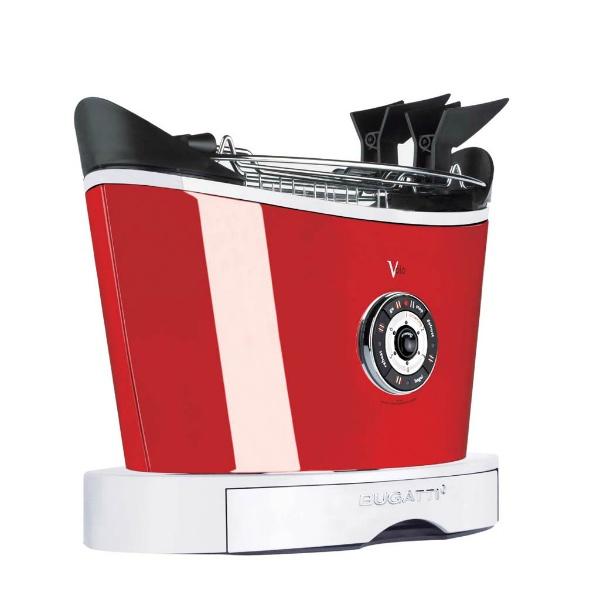 【ブガッティ】 ブガッティ ボロ トースタ― 13-VOLOC3-JP レッド 【キッチン用品:キッチン家電:電子レンジ・オーブン・トースター:トースター】